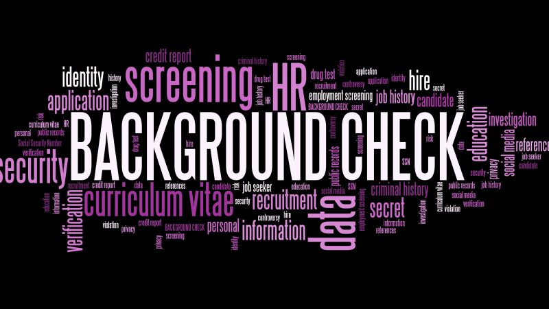 Obtain Instant Background Check