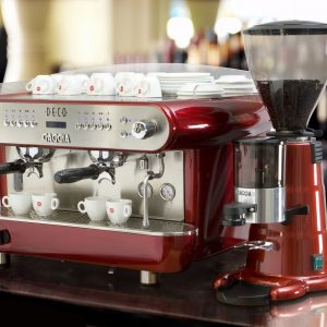 Espresso equipment, cappuccino machine, barista training